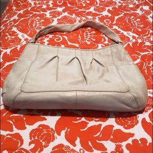 Cole Haan cream color leather purse